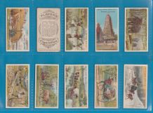 Tobacco cigarette cards British Empire,Ceylon,Australia,India,Re